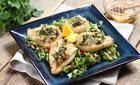 Gruszki z serem pleśniowym. Fot. Knorr