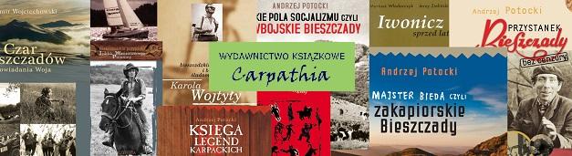 Wydawnictwo Carpathia - ksiązka z Karpat i z Bieszczadów