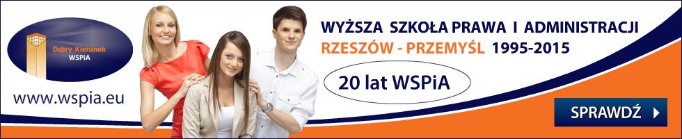 Wyższa Szkoła Prawa i Administracji Rzeszów-Przemyśl -nabór na rok akademicki 2015/2016