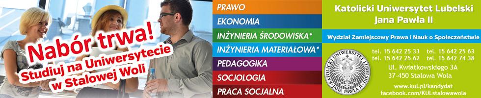 KUL Wydział Zamiejscowy Prawa i Nauk Społecznych w Stalowej Woli