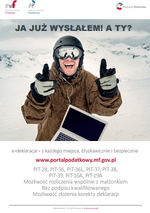 Szybki PIT - kampania informacyjna Ministerstwa Finansów