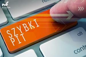 Szybki PIT - rozlicz się przez Internet