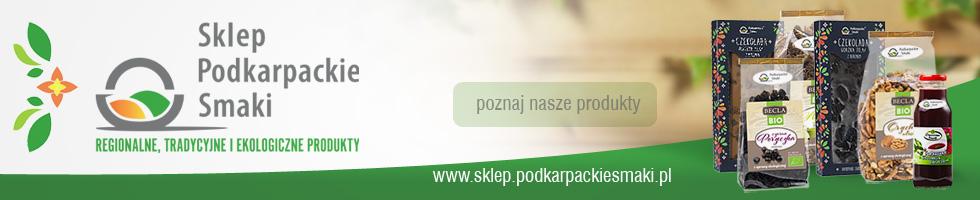 Sklep internetowy Podkarpackie Smaki - produkty tradycyjne, regionalne i ekologiczne