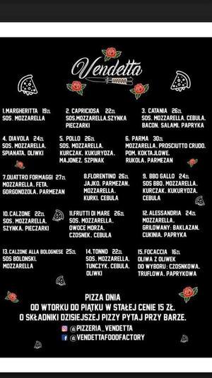 Pizzeria Vendetta – z pomysłem na pizzę i nie tylko