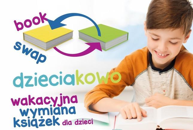 Wymiana książek dla dzieci galerii Plaza Rzeszów