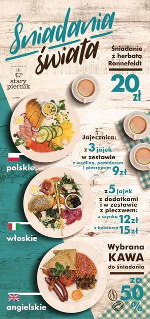 Stary Piernik – śniadania świata