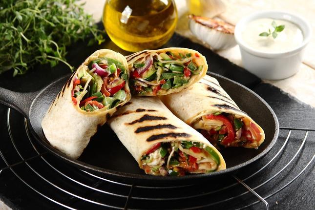 Warzywne tortille. Fot. Knorr