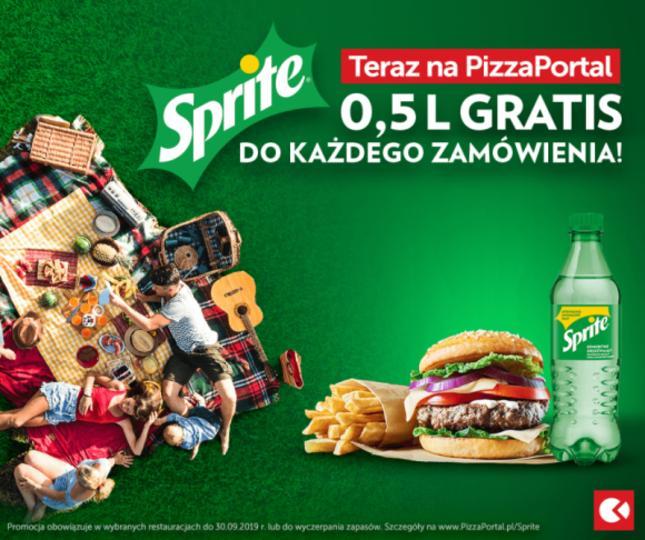 Promocja sprite w PizzaPortal.pl