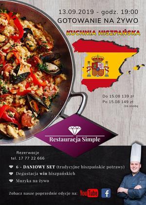 Restauracja Simple: tym razem hiszpańskie smaki
