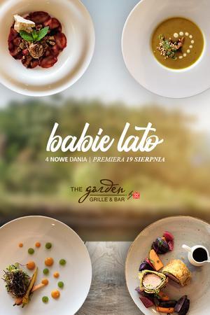 Restauracja Garden – pierwsze jesienne smaki