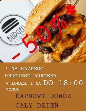 Burger Store: poniedziałkowa promocja