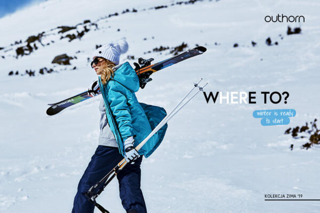 Zimowa kolekcja ubrań Outhorn na sezon 2019/2010