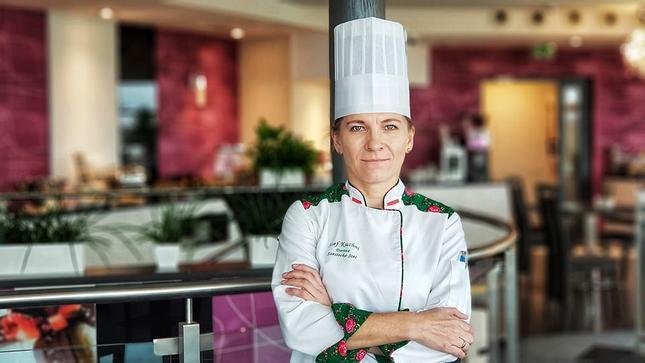 Dorota Szostecka, nowa szefowa kuchni Restauracji Simple w Hotelu Blue Diamond w Nowej Wsi