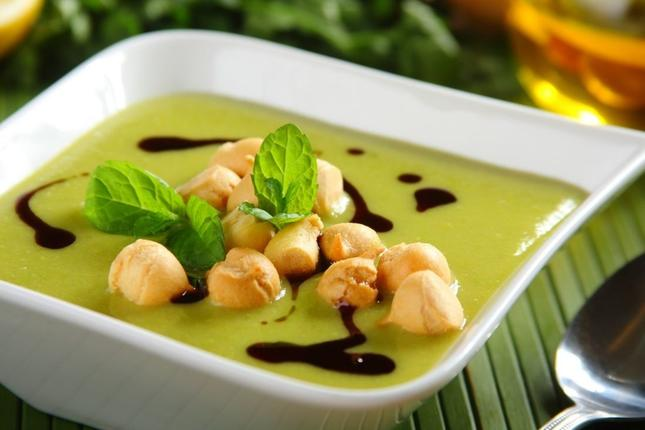Zielona zupa krem. Fot. Knorr