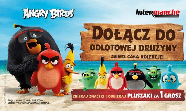 Angry Birds w Intermarché – nowa akcja lojalnościowa sieci